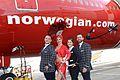 Norwegian Air Shuttle celebrates launch of Gatwick–Las Vegas flight 4.jpg