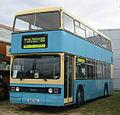 Nu-Venture bus T857 (A857 SUL) 1983 Leyland Titan B15, Maidstone Corporation centenary livery, Showbus 2004.jpg