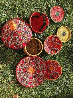 Nubian baskets