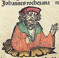 Nuremberg chronicles f 241v 3 Johannes rochezana.jpg