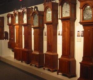 National Watch and Clock Museum - Longcase clocks