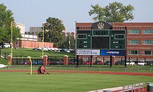 Bearcat Stadium - Image: Nwmsu score
