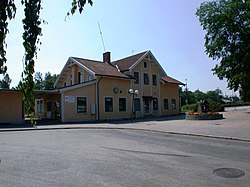 Nybro railway station Sweden.JPG
