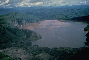 Lake Nyos - Image: Nyos Lake