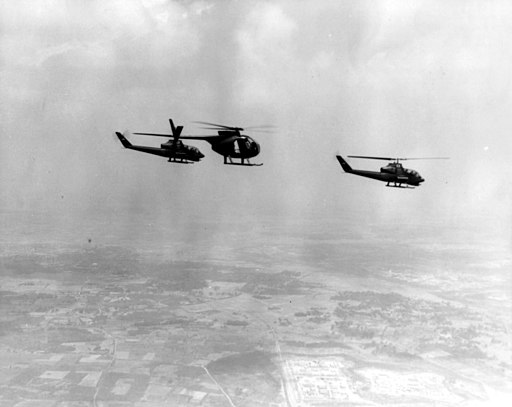OH-6A and AH-1G Recon Vietnam