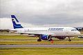 OH-LXE A320-214 Finnair MAN 31OCT03 (10667059406).jpg