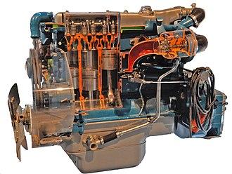 Diesel engine - Image: OM 352