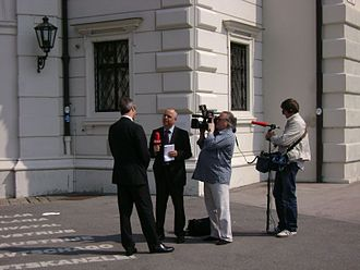 ORF (broadcaster) - ORF interview in Vienna