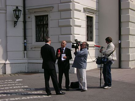 ORF interview in Vienna.