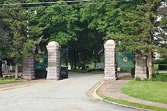 Oakdale Memorial Gardens - Entrance Gates
