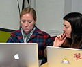 Oakland Wiki Women's Edit-a-thon 2.JPG