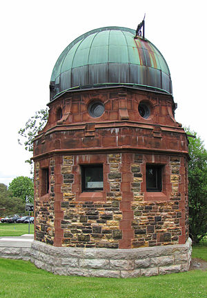 Dominion Observatory - Photo Equatorial Building in front of main building