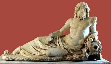 Статуя Океана Археологический музей Стамбула