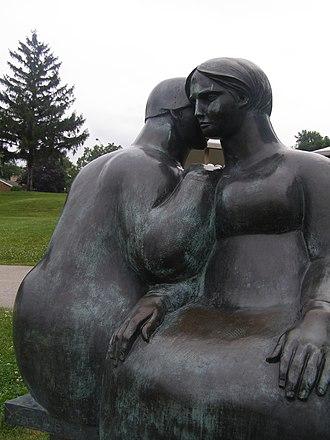 Joe Rosenthal (sculptor) - Image: Odette Sculpture Park Consolation 03