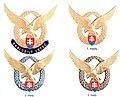 Odznaky pilotov Vzdusnych sil Ozbrojenych síl Slovenskej republiky.jpg