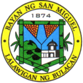 Official Seal of Municipality of San Miguel, Bulacan.png