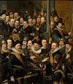 Officieren Oranjevendel Verlaten Stadhuis, 1616.jpg