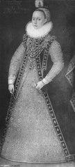 Okänd kvinna troligen tysk furstinna (kallad Anna, 1526-1591, prinsessa av Hessen)