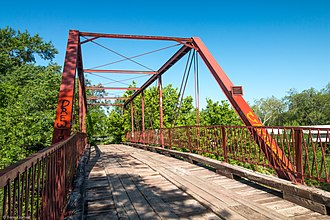National Register of Historic Places listings in Denton County, Texas - Image: Old Alton Bridge (1 of 1)