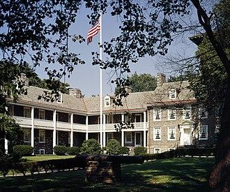 Trenton, New Jersey - The Old Barracks in Trenton, New Jersey