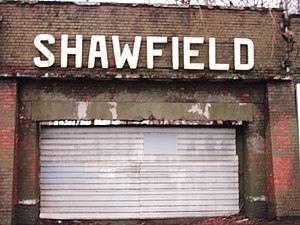 Shawfield Stadium - Old entrance gate at Shawfield in 2008