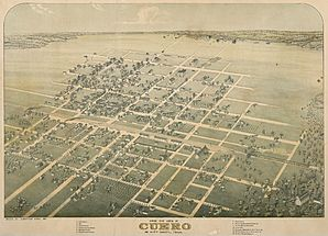 Old map-Cuero-1881.jpg