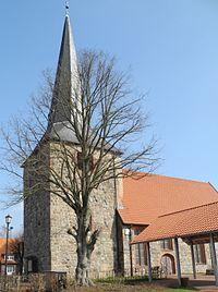 Oldendorf (Landkreis Stade) - Feldsteinkirche 800 Jahre.JPG