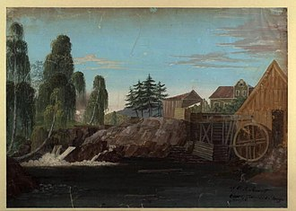 Hassel Iron Works - Ole Jørgen Rawert: Hassel Iron Works in Norway, 1805