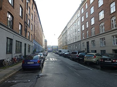 How to get to Ole Jørgensens Gade with public transit - About the place