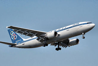Olympic Airlines - Airbus A300B4-600R