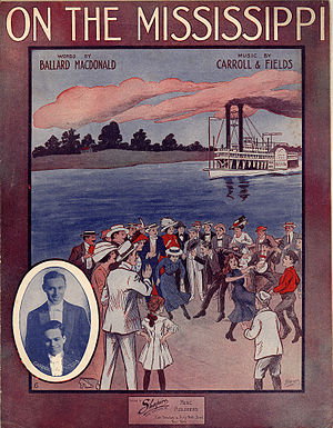 1912 in music - Image: On The Mississippi 1912