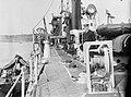 On board the destroyer Laforey (1913) at moorings in Harwich harbour RMG N24230.jpg