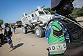 On foot patrol in Mogadishu with an AMISOM Formed Police Unit 03 (8171790822).jpg