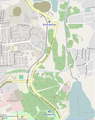 OpenStreetMap of children railroad in Donetsk.png