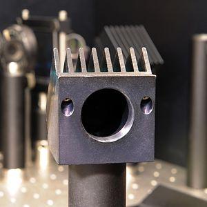 Beam dump - Optical beam dump suited for several watts of laser light