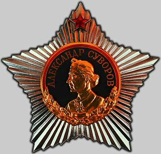 Order of Suvorov - Image: Order of Suvorov 1st class