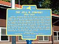 Original Jell-O Factory Historic Marker Le Roy NY Aug 10.JPG