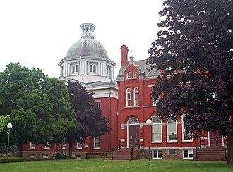 Orleans County, New York - Image: Orleans County Courthouse, Albion, NY