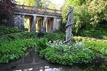 décoration bassin de jardin