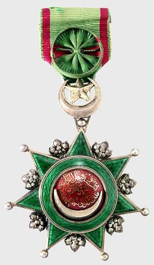 Order of Osmanieh - Image: Osmanie III