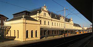 Svinov - Train station in Svinov