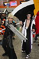 Otakuthon 2014- Cloud and Kenpachi Zaraki (14853372187).jpg
