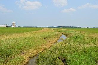 Union Township, Hancock County, Ohio - Ottawa Creek south of Rawson
