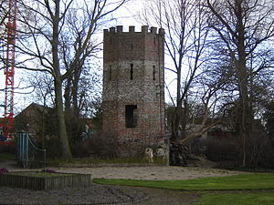 Abbey of St. Peter in Oudenburg - Ruins of the Abbey in Oudenburg.