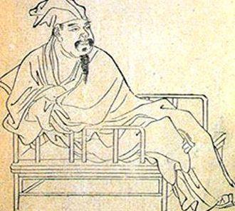 Ouyang Xiu - A contemporary drawing of Ouyang Xiu