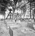 Overzicht zuidgevel met kerkhof en kokkenstoel - Wanneperveen - 20350546 - RCE.jpg
