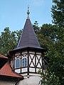 Pálffy Villa, tower, Szent István király Street, 2017 Mosonmagyaróvár.jpg