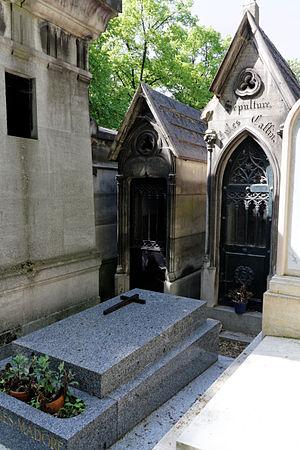 Paul Hautefeuille - Tomb of Paul Hautefeuille; Père-Lachaise - division 58