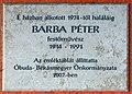 Péter Barba plaque Bp03 Folyamőr2.jpg