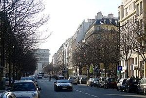 Avenue Hoche - Avenue Hoche in 2012.
